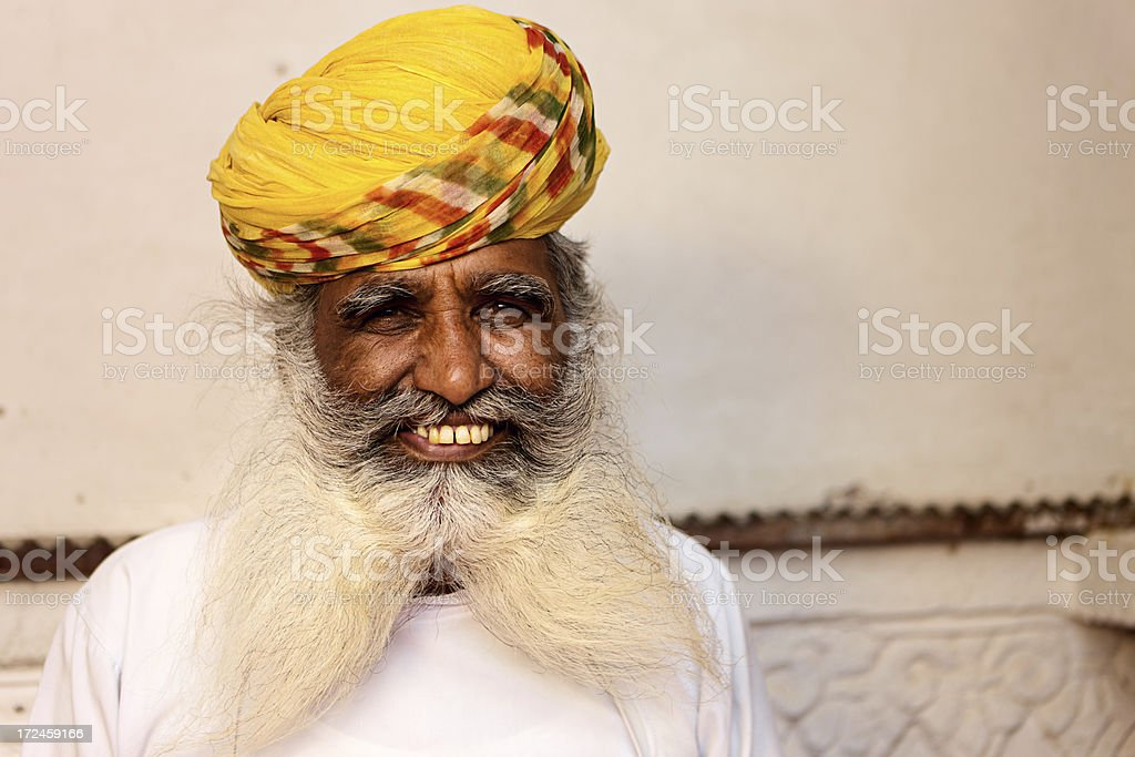 Old Indian man royalty-free stock photo