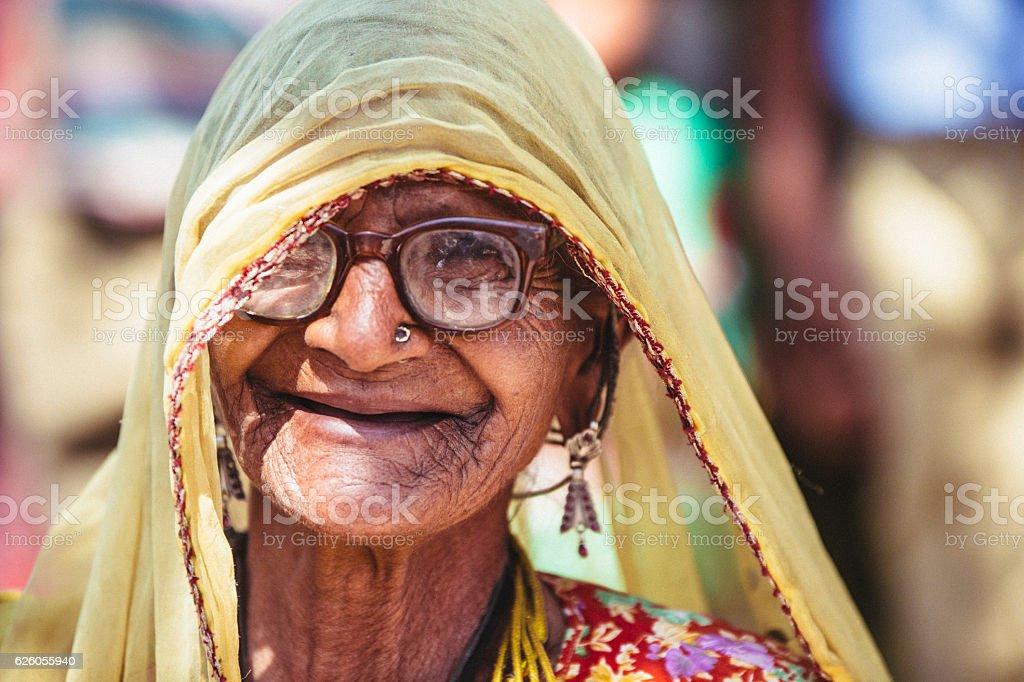 Indische alte Frauen