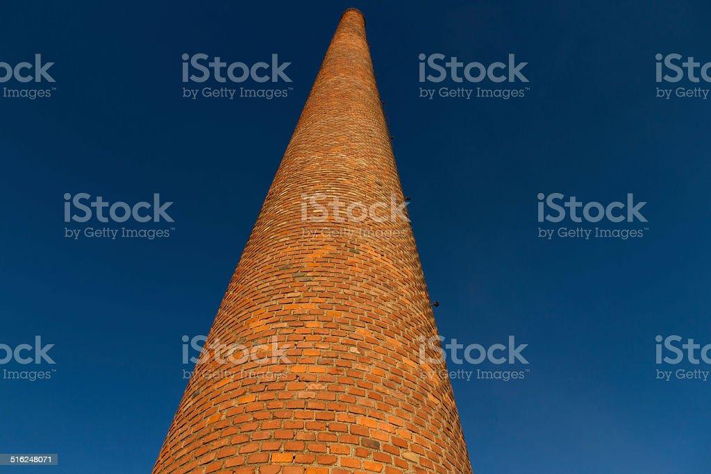 Old Industrial Chimney - Chimenea Industrial Antigua stock photo