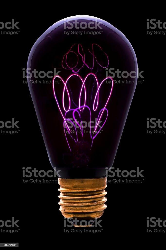 Vecchia Lampada a infrarossi foto stock royalty-free