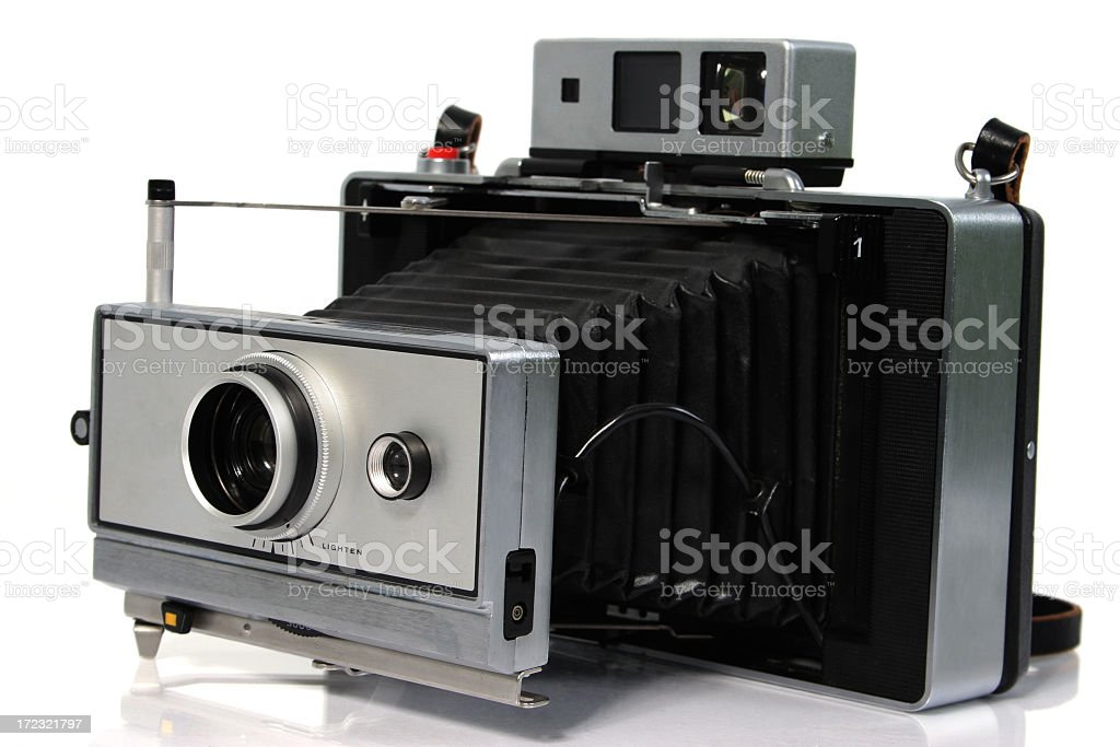 Old Instant Camera royalty-free stock photo