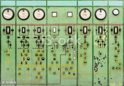 old instrument gauges