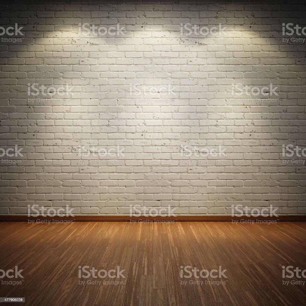 Old interior room stock photo
