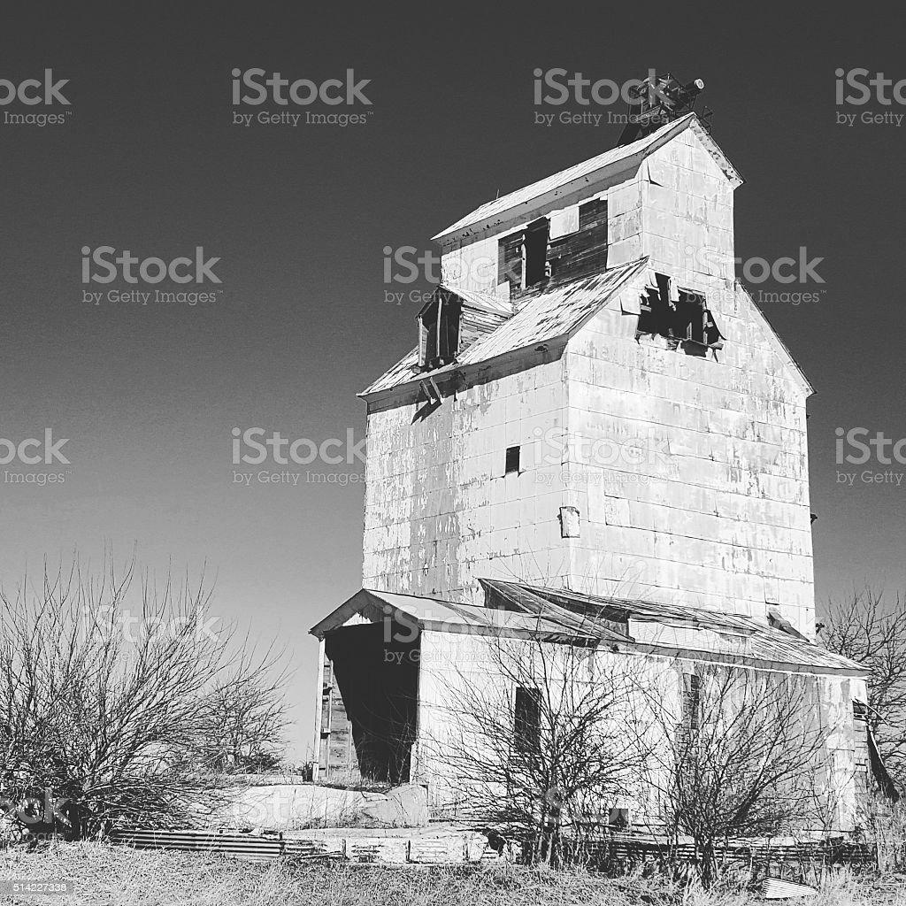 зерновой элеватор старый