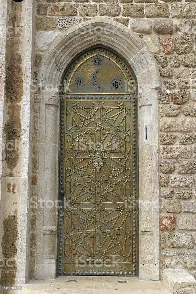 Old Iron porta foto stock royalty-free