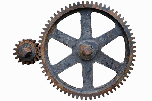Old iron Gears