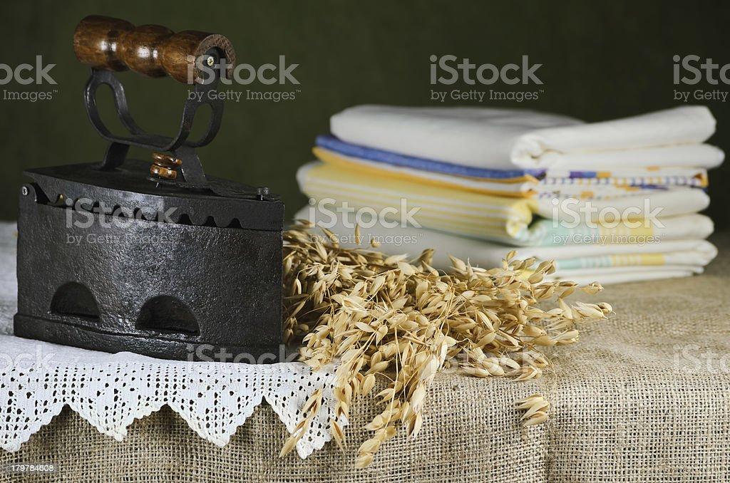 Old Iron royalty-free stock photo