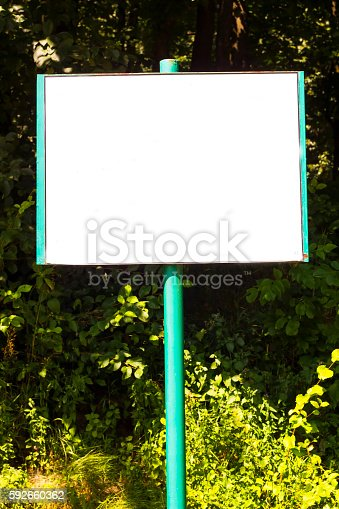 839409724 istock photo Old iron shield for advertising or announcements. Horizontal mock-up 592660362