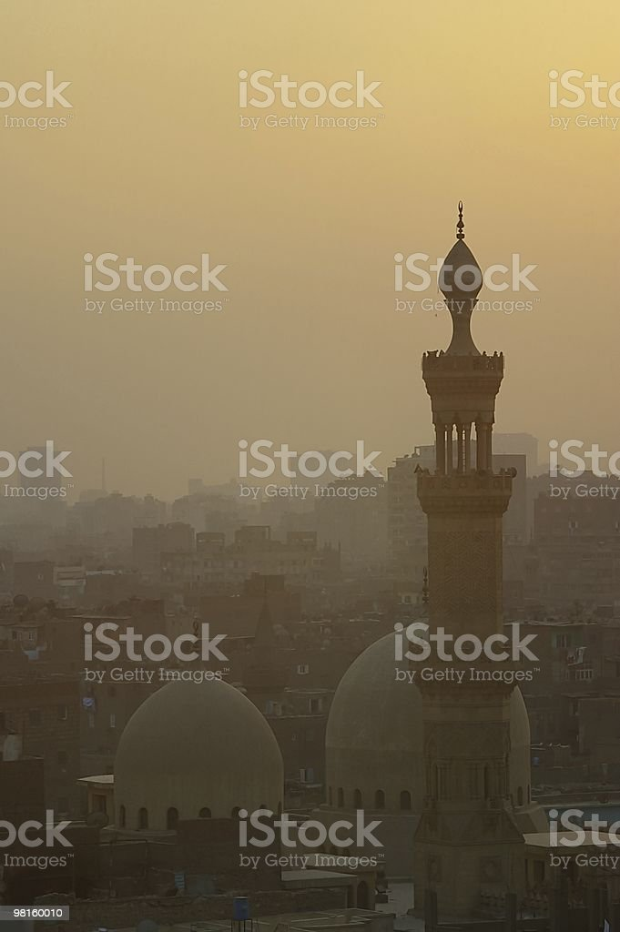 old Islamic Cairo quarter Egypt royalty-free stock photo