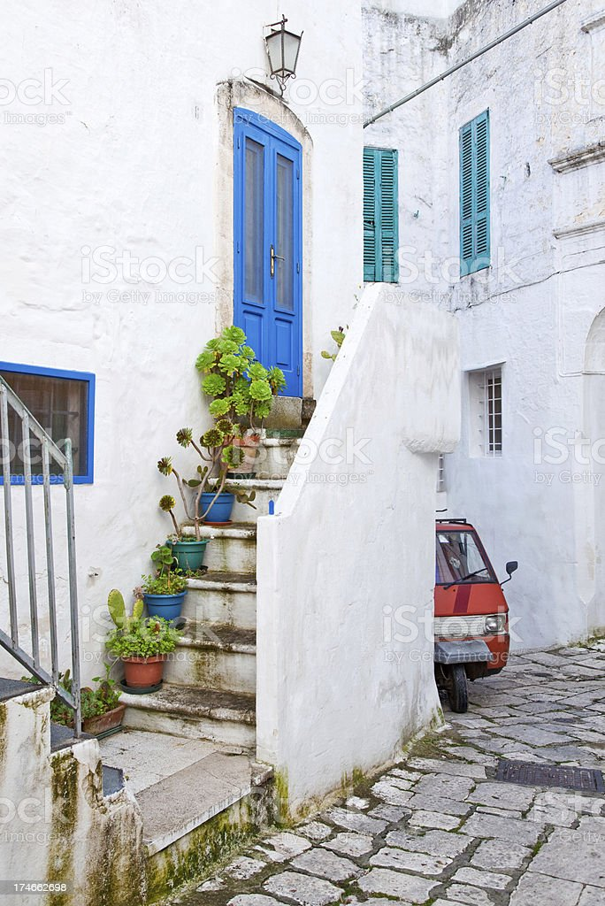 Old Italian Town stock photo