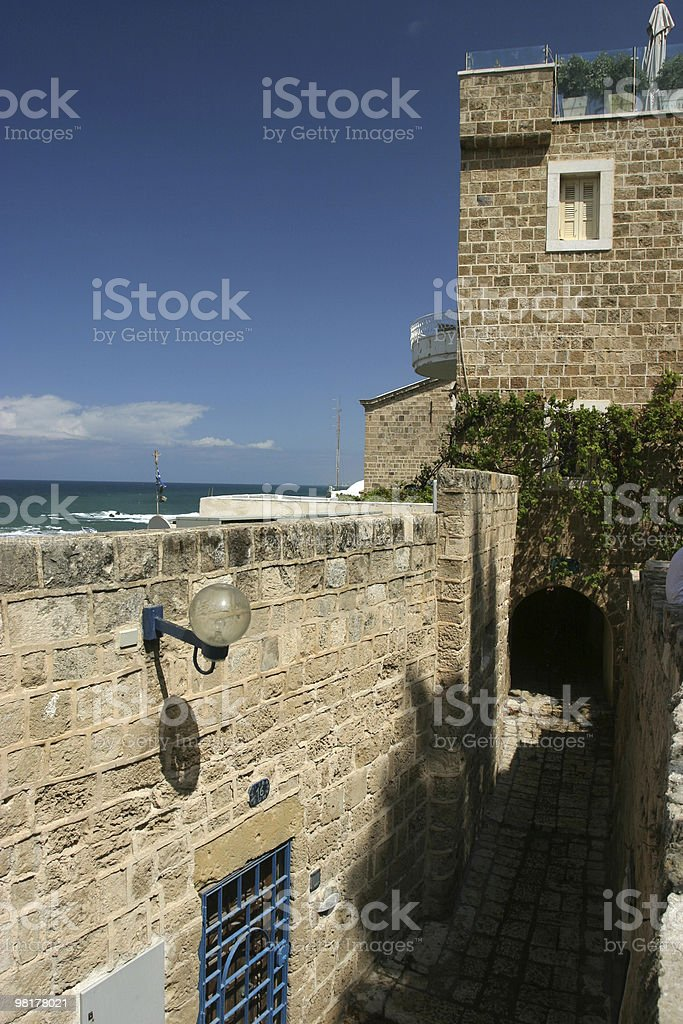 Old Jaffa, Israel royalty-free stock photo
