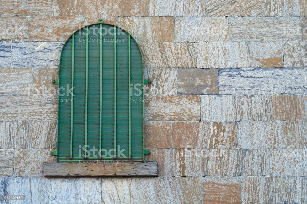 Old Jail Window Ancient Cell Medieval Gothic Brick Dungeon Royalty Free Stock Photo