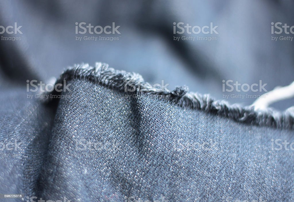 Old jeans deficiencies foto royalty-free