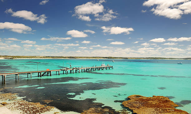 Old Jetty, Kangaroo Island, Australia (XXXL) stock photo