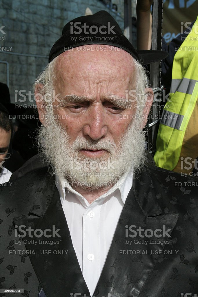 Old Jew royalty-free stock photo