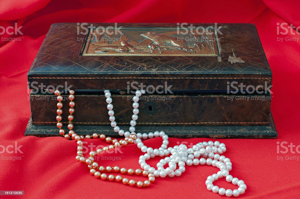 Old jewelry royalty-free stock photo