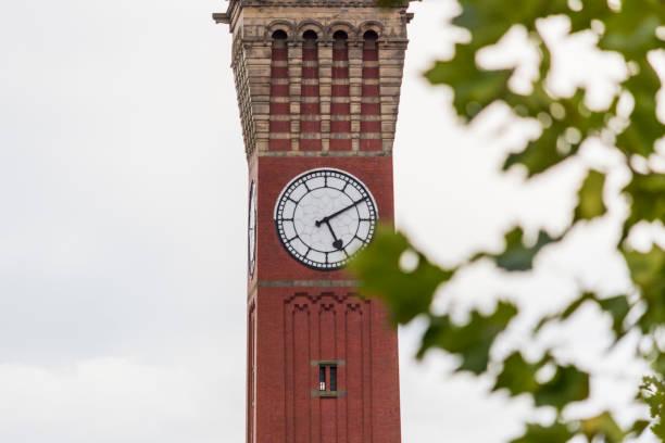 Old Joe clock tower at the University of Birmingham stock photo