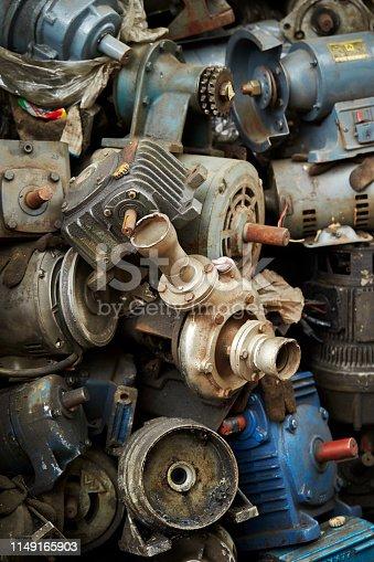 Old junk motors
