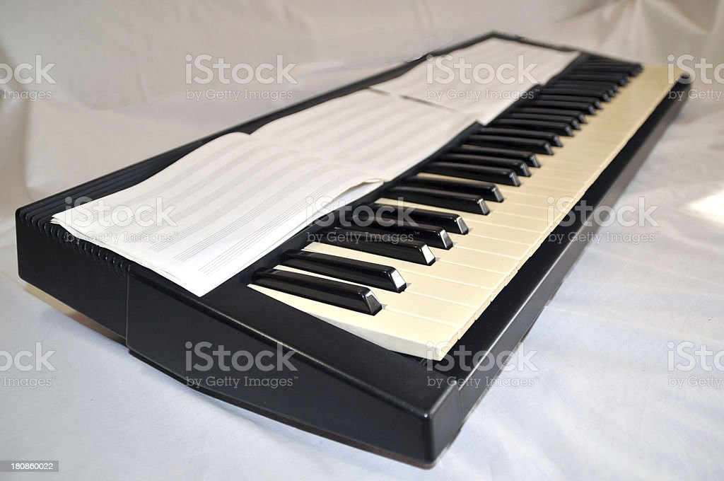 Old keyboards royalty-free stock photo