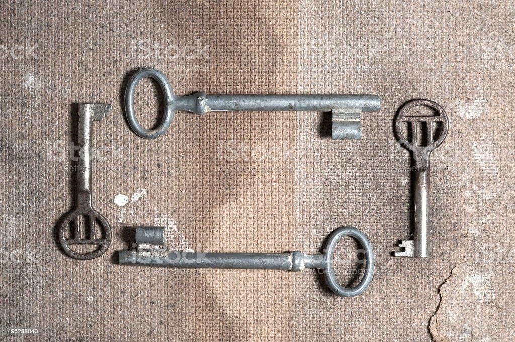 Old Keys stock photo