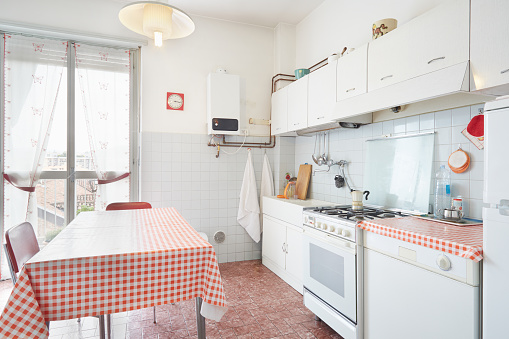 Old kitchen in normal house