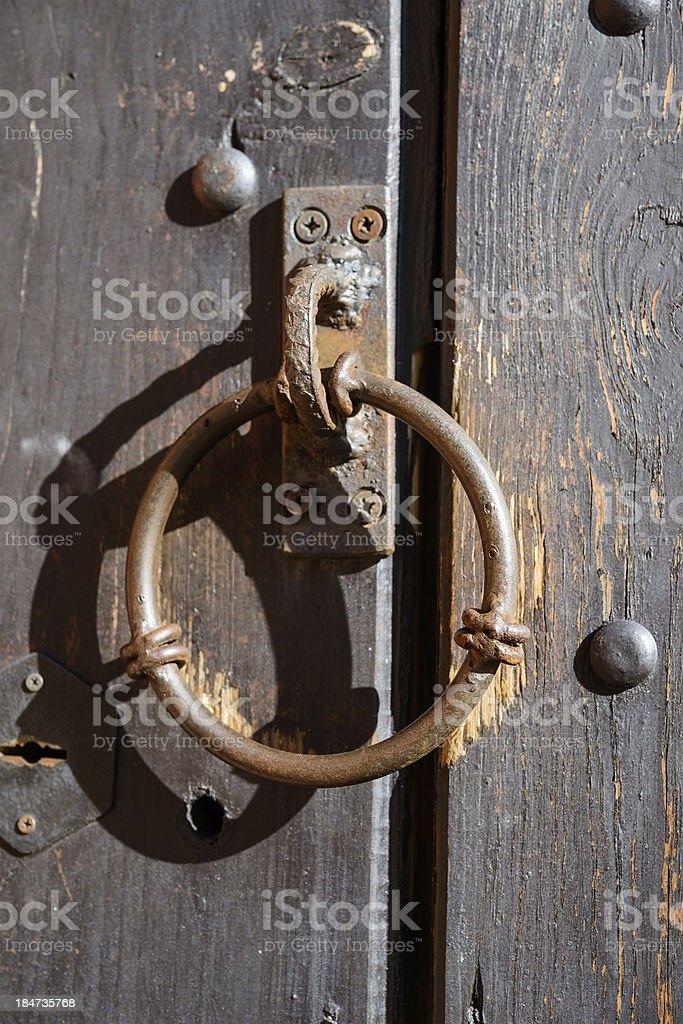 Old knocker royalty-free stock photo