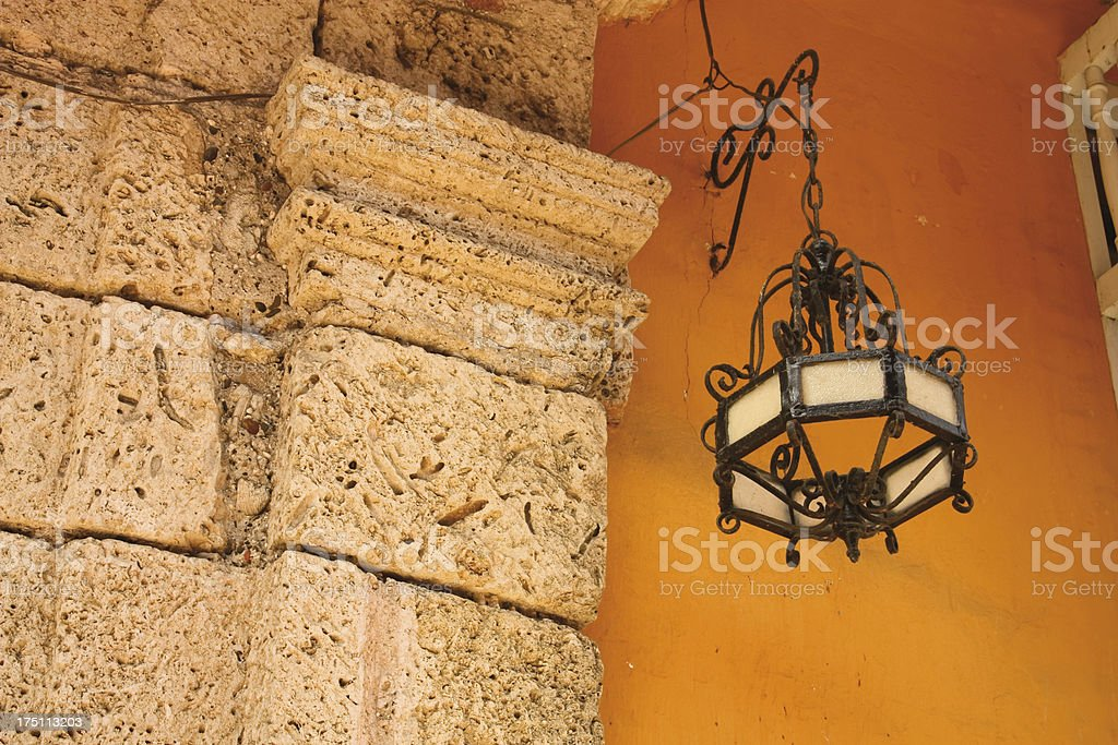 old lamp royalty-free stock photo