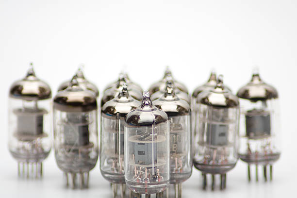 old lamps - ham radio stock photos and pictures