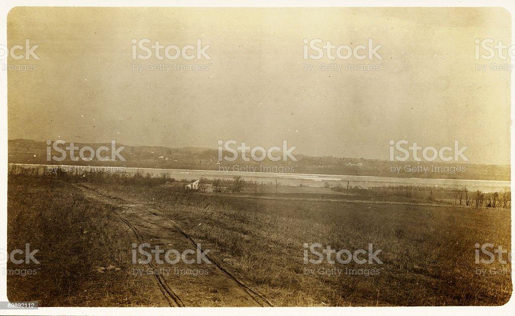 old landscape royalty-free stock photo