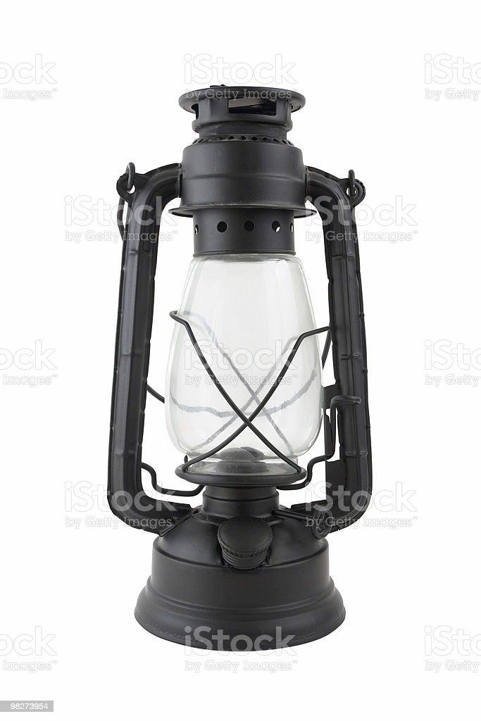Old Lantern, Isolated royalty-free stock photo