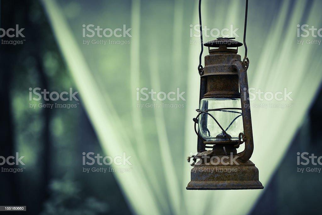 Old lantern royalty-free stock photo