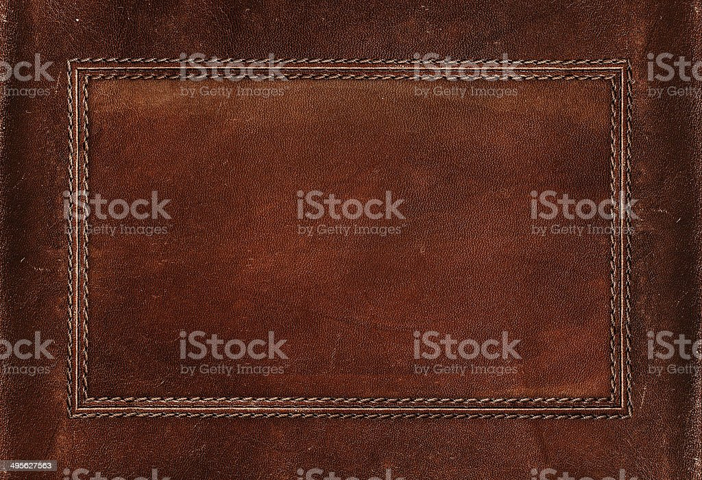 Old leather texture stock photo
