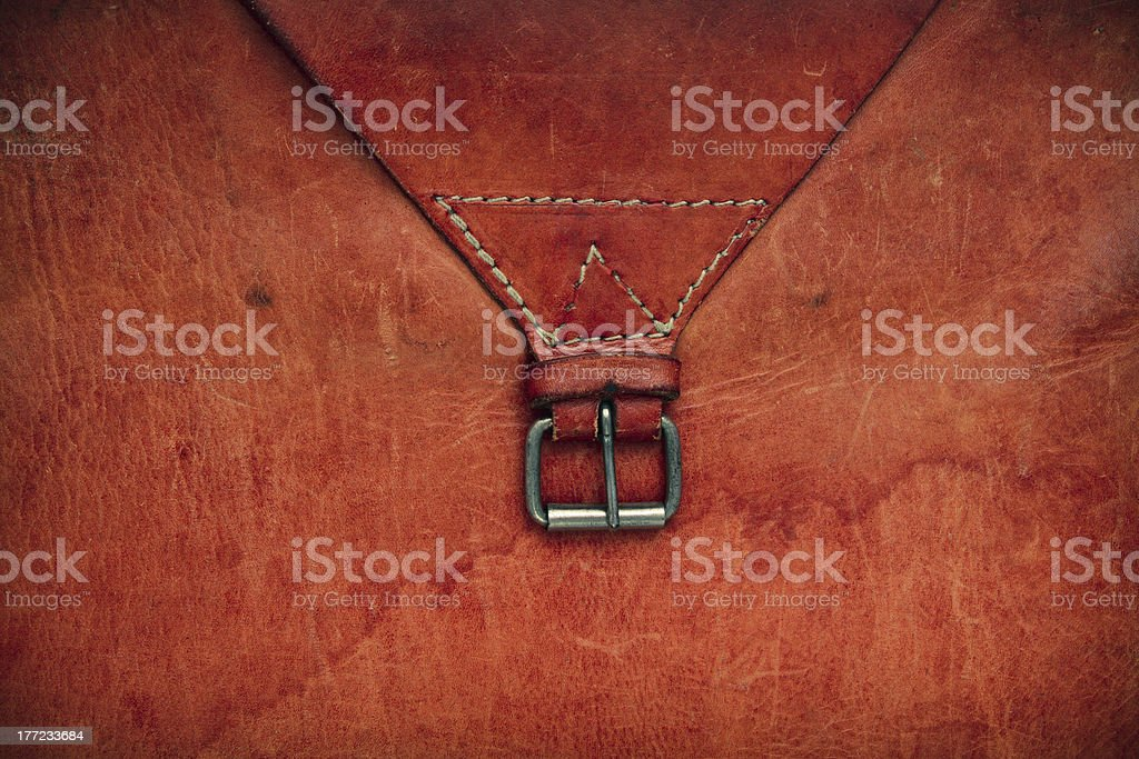 Old leather textured background stock photo