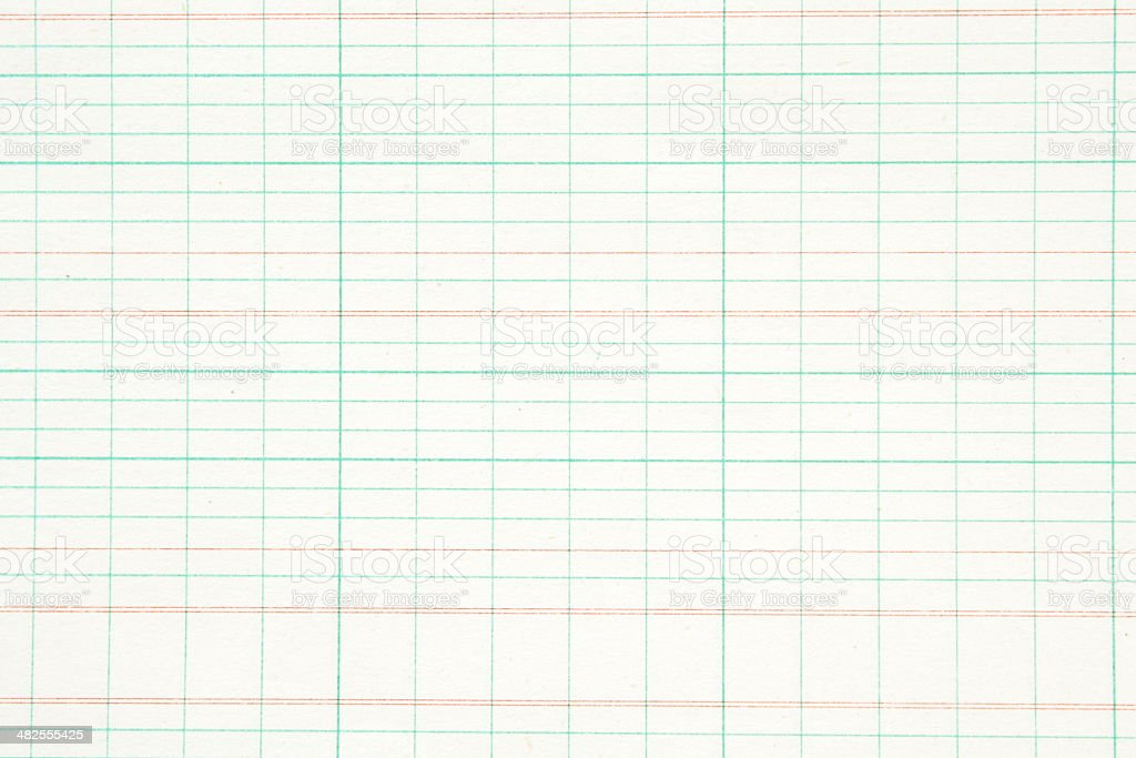 Old Ledger Paper stock photo
