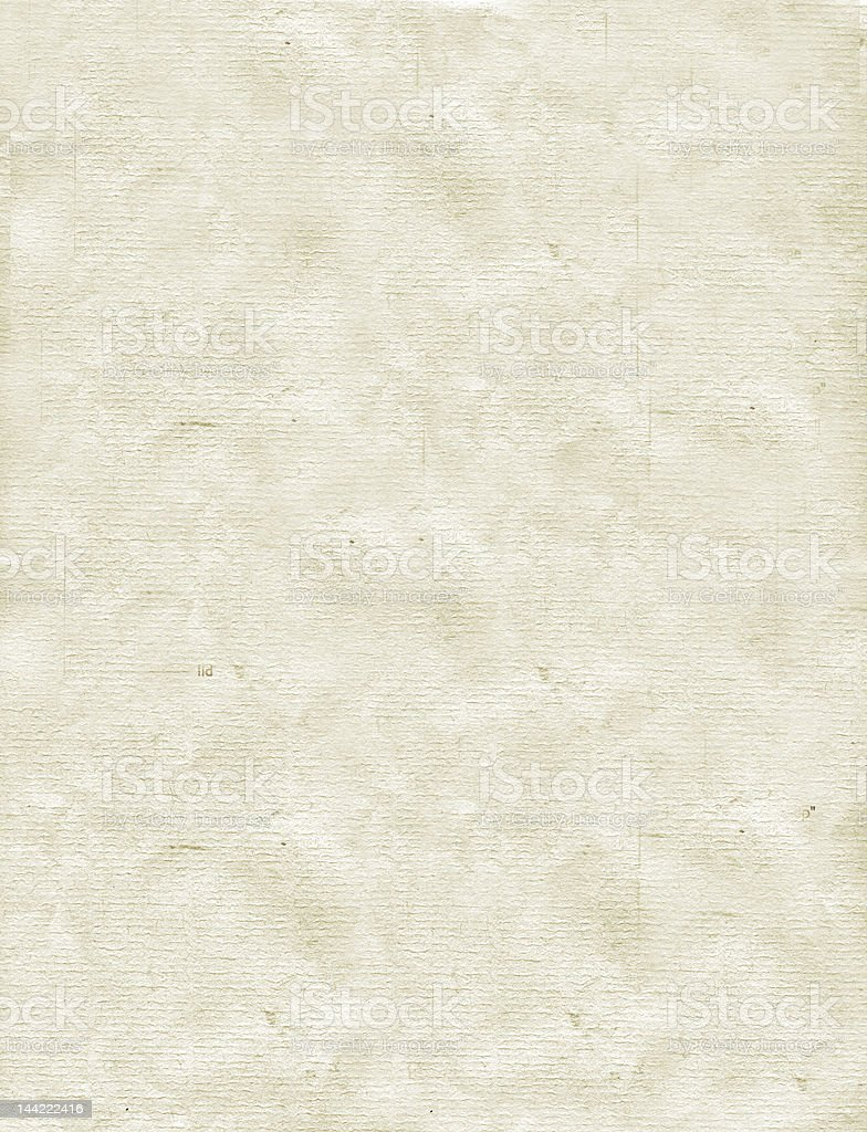 Old Letterhead royalty-free stock photo