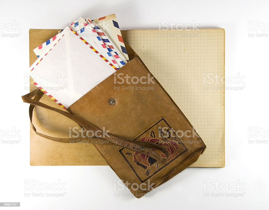 Old letters and memories royalty-free stock photo