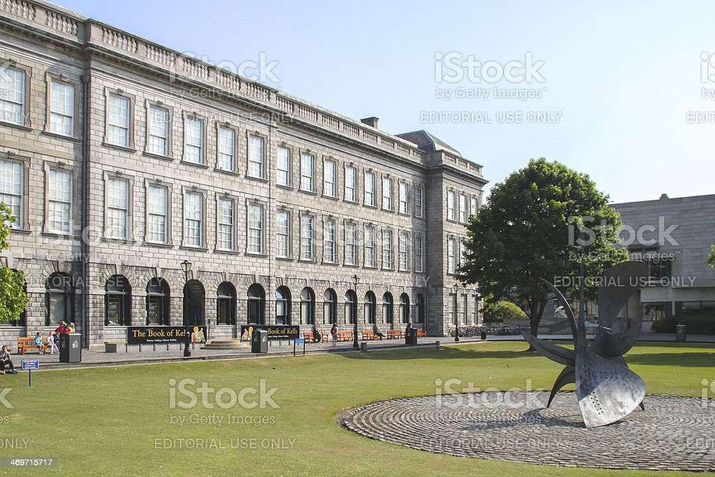 Old Library at Trinity College, Dublin stock photo