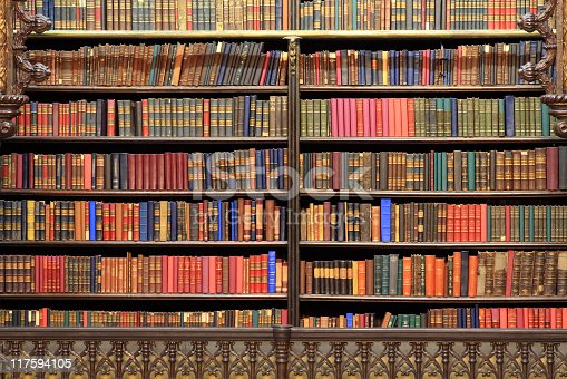 istock Old library 117594105
