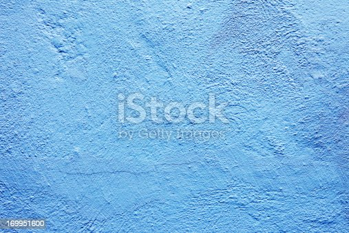 Old weathered wall in light blue shades. The wall is painted with chalk. Old town in Elsinore, Denmark (XXXL)  More walls/textures: