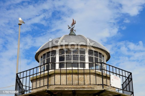 615497916 istock photo old lighthouse of St. Ives against a blue sky 175210388