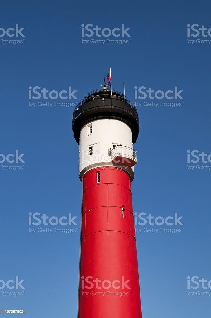 Old Lighthouse, Wangerooge, Germany royalty-free stock photo