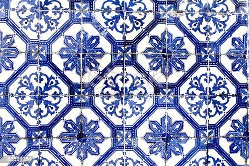 istock old Lisbon tiles , azulejos 183584154