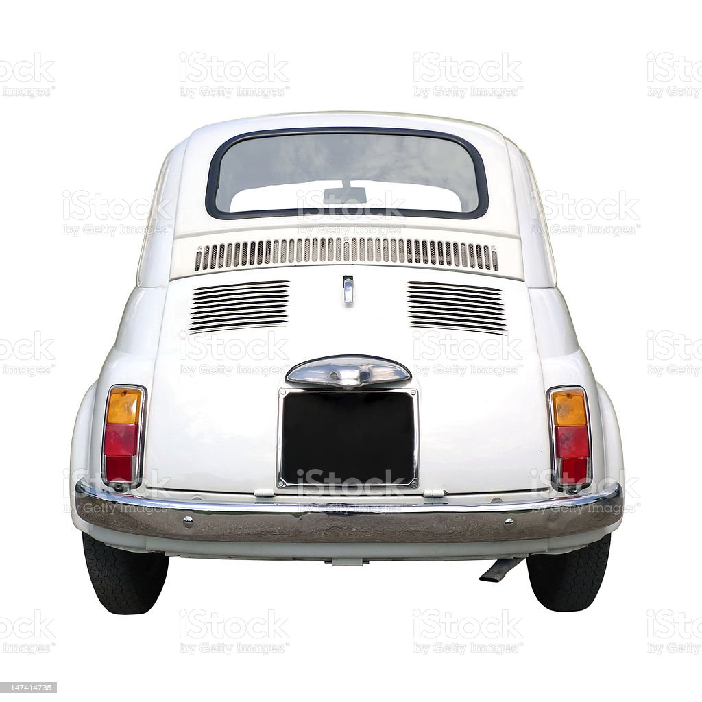 Old little car stock photo