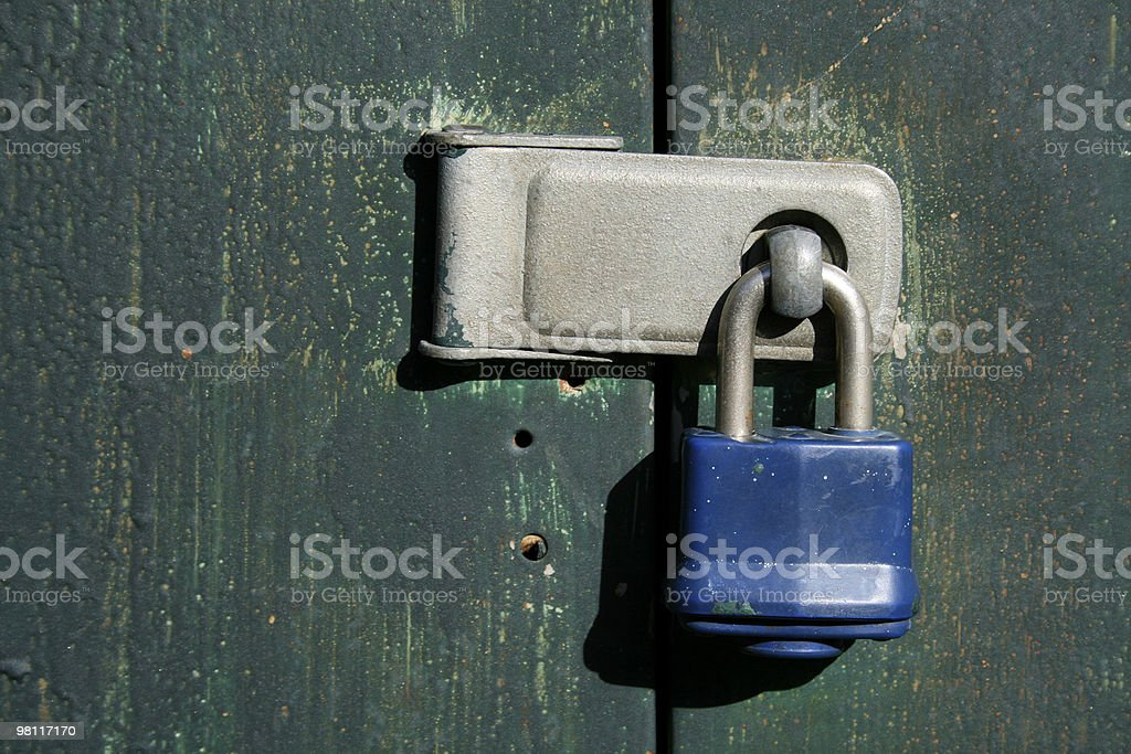 Old Lock royalty-free stock photo