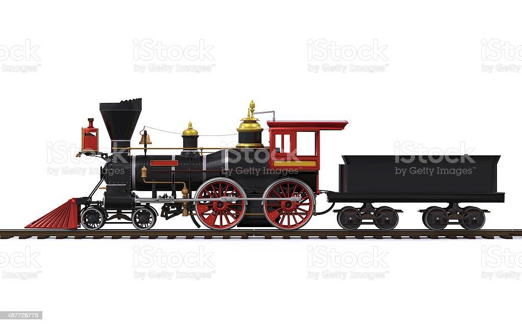 Old Locomotive Train stock photo