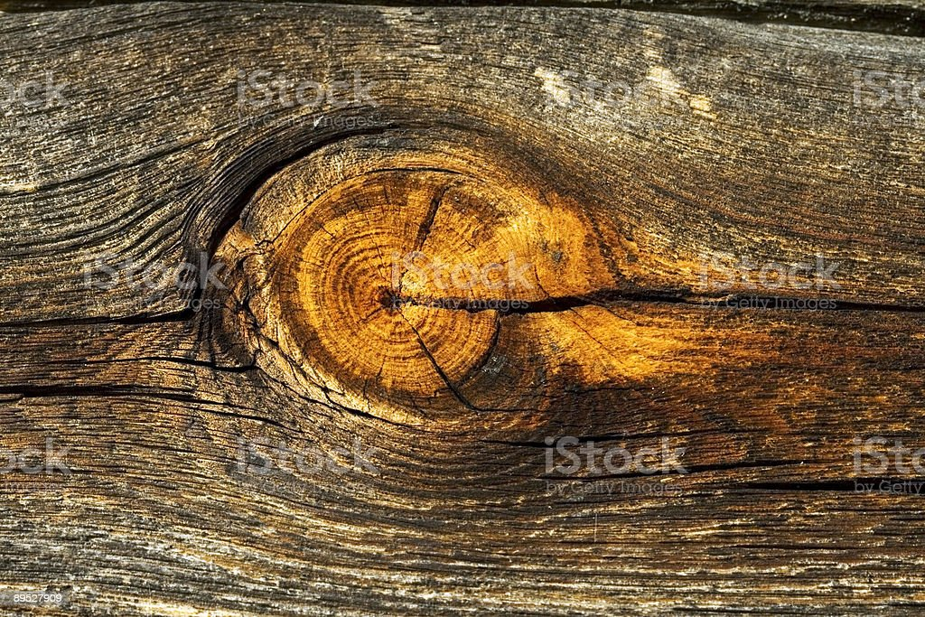Old Log Pattern royalty-free stock photo