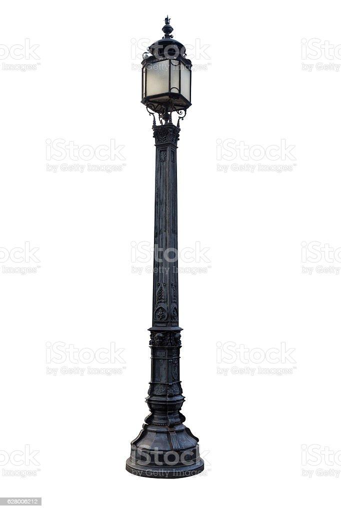 Old London lamp post stock photo