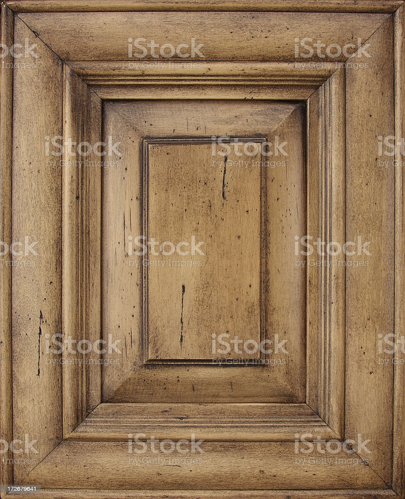 Old looking door frame 1 stock photo