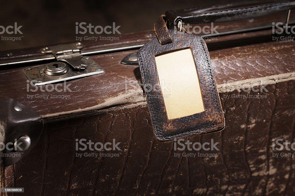 Old de bagagem - foto de acervo
