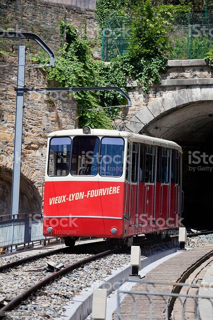 Vieux Lyon funiculaire - Photo